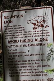 A warning about wildlife