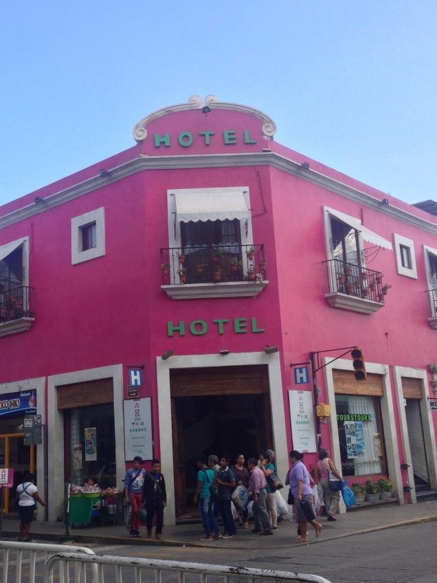 Street view of Hotel Trebol