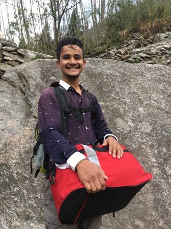 Assistant guide Arjun.