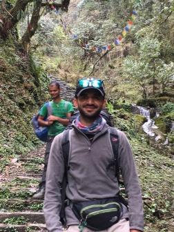 My lead guide, Sanjay